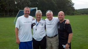 Coaches Matt Schiffer, Tilo Schiffer and Jake Thurber attended the Coerver Youth Diploma in the summer of 2013. The course was run by Coerver Coaching Co-Founder and Chelsea legend Charlie Cooke.