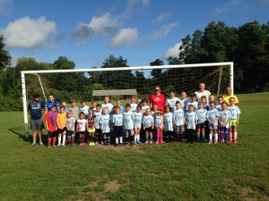 Group Picture from our 2015 Belchertown Camp in August
